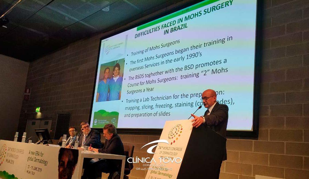 Cirurgia de Mohs no Brasil – World Congress of Dermatology – 10 a 16 de Junho de 2019